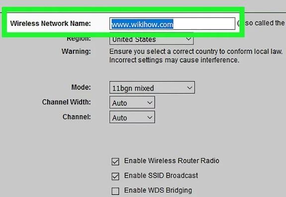 configurar router wifi nombre de red