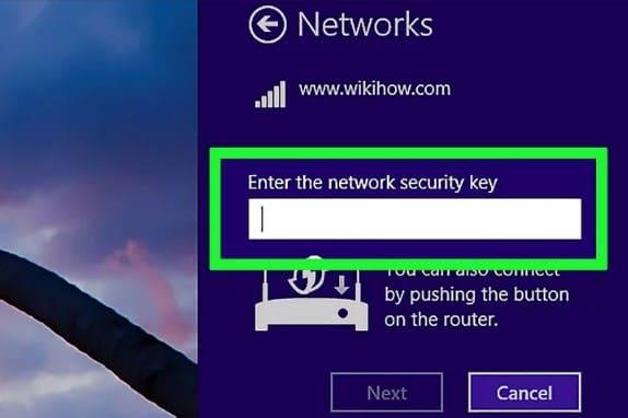 indica tu contraseña de tu wifi para conectar