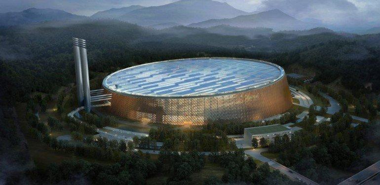 ciudad china Shenzhen, la que será la mayor planta de conversión de residuos del mundo.